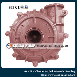 Anti-Abrasive High Chrome Alloy Centrifugal Slurry Pump for Dredging& Qaurry pictures & photos