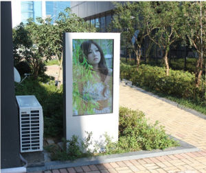 65inch IR55 PC Outdoor LCD Ad Kiosk pictures & photos