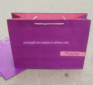 Wholesale Cheap Printing Colorful Gift Paper Bags pictures & photos