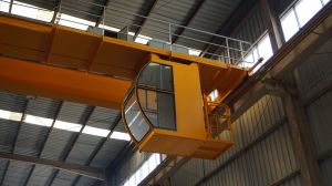 Qd Steel Structure Workshop Use Running Double Girder Overhead Crane pictures & photos