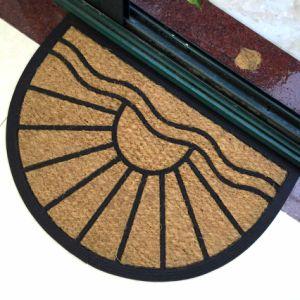 Outdoor Rubberized Rubber Coco Coconut Coir Fiber Brush Door Mats pictures & photos