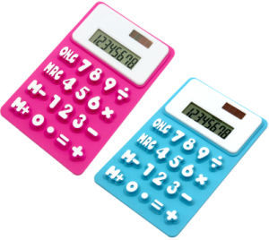 Silicone Calculator, Promotion Calculator pictures & photos
