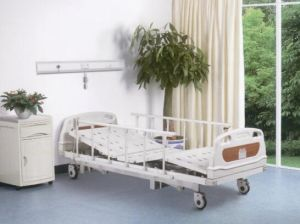 Hospital Furniture, Super-Low Three Functions Electric Medical Bed (XH-B-4) pictures & photos