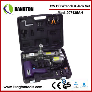 12V DC Impact Wrench & Electrical Jack Set pictures & photos