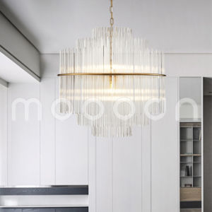 Modern Large Hand Blown Glass Chandelier with G9 LED Bulbs pictures & photos