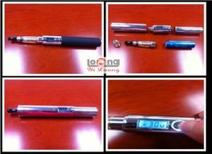2012 October Latest Version Intelligent VV LCD Evo E-Cig Introduction--LCD Can Check Atomizer Resistance Values (ohms) and Single Battery Maximum Power Settings