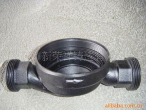 Iron Casting Pump Body Water Pump with Water Pump Body