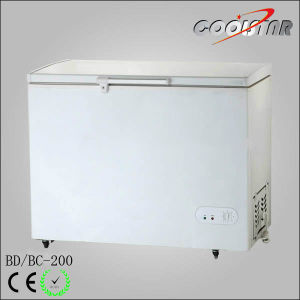New Style Supermarket Chest Freezer with Adjustable Thermostat (BD/BC-200) pictures & photos