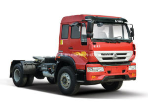Sinotruk Golden Prince Brand 4X2 Driving Type Tractor Truck pictures & photos