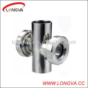 Stainless Steel Welding Four-Way Sight Glass pictures & photos