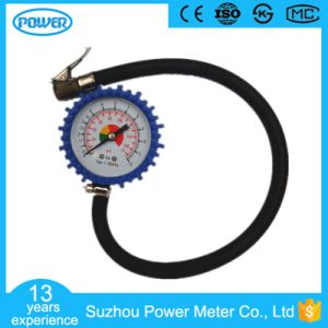 63mm High Quality Tire Pressure Gauge with Rubber Protector pictures & photos