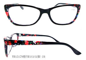 Promotional Plastic High Quality Myopia Distance Glasses pictures & photos