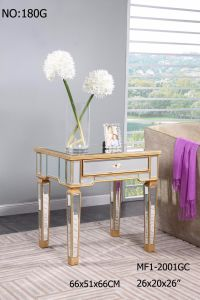 Golden Mirror Furniture Lamp Table for Bedroom pictures & photos