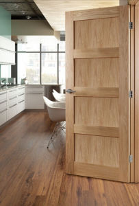 Interior Solid Wood Door From Hebei China Manufacturer (S2-601) pictures & photos
