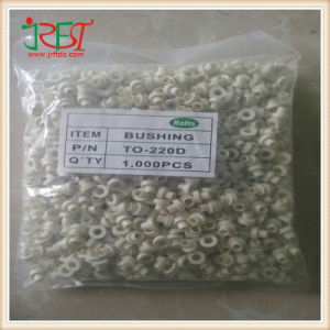 1000PCS to-220 D High Temperature Insulation Particles Insulation Rubber Bushing Silicon Tablet pictures & photos