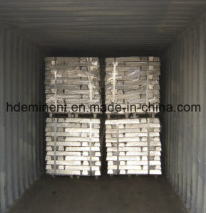 Pure Zinc Ingots 99.95% for Die-Casting Alloy pictures & photos