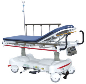 Electric Rise-and-Fall Stretcher Cart pictures & photos