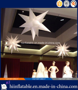 2015 Hot Selling LED Lighting Event, Stage Ceiling Decoration Inflatable Star 026