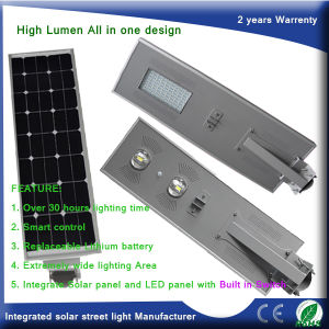 LED All in One Solar Street Garden Light Made by Manufacturer pictures & photos
