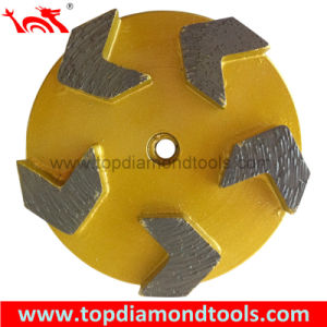 Metal Bond Diamond Grinding Disk with 5 Arrow Segment pictures & photos