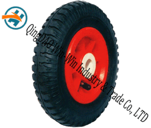 8*2.50-4 Wear-Resistant Rubber Wheel with Plastic Rim pictures & photos