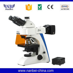 Bk-FL LED Light Source Epi Price Fluorescence Microscope pictures & photos