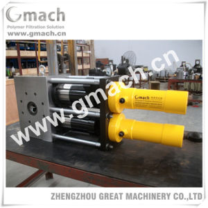 Dual Pillar Continuous Screen Changer for LDPE Recycling Machine pictures & photos
