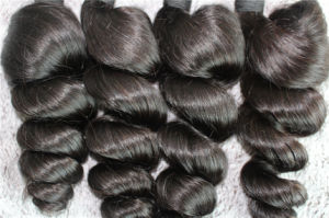 8A Top Quality Virgin Hair Loose Wave Brazilian Hair Wefts pictures & photos