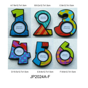 Wooden Decorative Numbers Photo Frames in MDF pictures & photos
