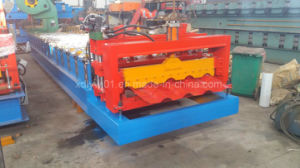 Great Building Material Aluminum Roof Glazed Tile Roll Forming Machine pictures & photos