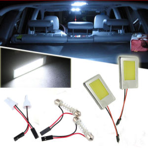 COB LED Car Interior Light Bulb with Panel
