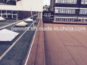 High Quality Heat Resisitance Bitumen Flat Roofing Waterproof Membrane pictures & photos