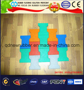 Weight Lifting Rubber Mat Can Stand up Heavy Dumbbells and Barbell pictures & photos
