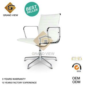 White Leather Eames Hotel Chair (GV-EA108) pictures & photos