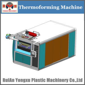 2017 China Plas Exhibition Show Machine/ Yxsf750 Multifunctional Thermoforming Machine (sheet feeding &Stretching by servo motor) pictures & photos