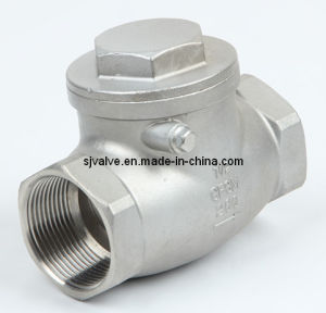 Stainless Steel Swing Check Valve pictures & photos