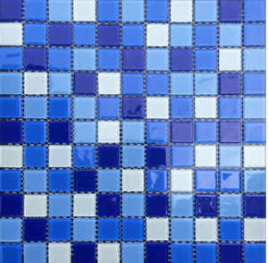 Glass Mosaic Swimming Pool Mosaic pictures & photos