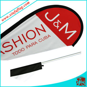 Promotional Custom Feather Flags Flying Beach Flags pictures & photos