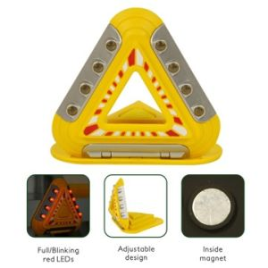 Auto LED Triangle Emergency Alarm Light