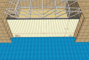 China Aluminum Acoustic Movable Partitions Walls for Stadium, Multi-Purpose Hall pictures & photos
