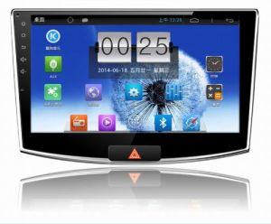 10.1 Inch Big Screen Android 4.4 Car Radio for Volkswagen Magotan with 1024 * 600 Resolution and DVR Camera Input