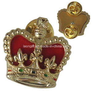 Custom Crown Military Gold Badge Wholesale pictures & photos