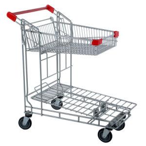 Warehouse Supermarket Goods Transportation Flat Cart (furniture market) pictures & photos