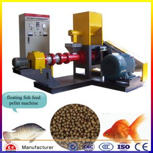 Fish Farming Equipment Tilapia Fish Feed Pellet Extruder Machine