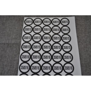 PVC Adhesive Label for Food Packageing pictures & photos