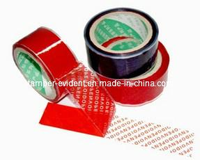 Security Self Adhesive Tamper Proof Tape