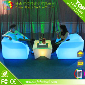 Modern LED Sofa for Bar / Bar Sofa with LED Light