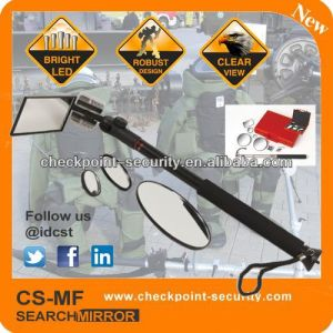 LED Flashlight 4interchangeable Mirrors Under Search Mirror Kit CS-Mfs