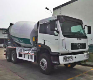 Faw 9cbm Concrete Mixer Truck pictures & photos