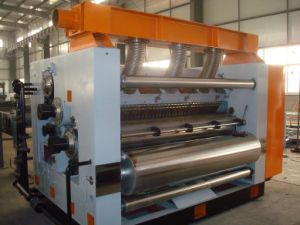 Adsorbing Type Corrugated Cardboard Single Facer pictures & photos